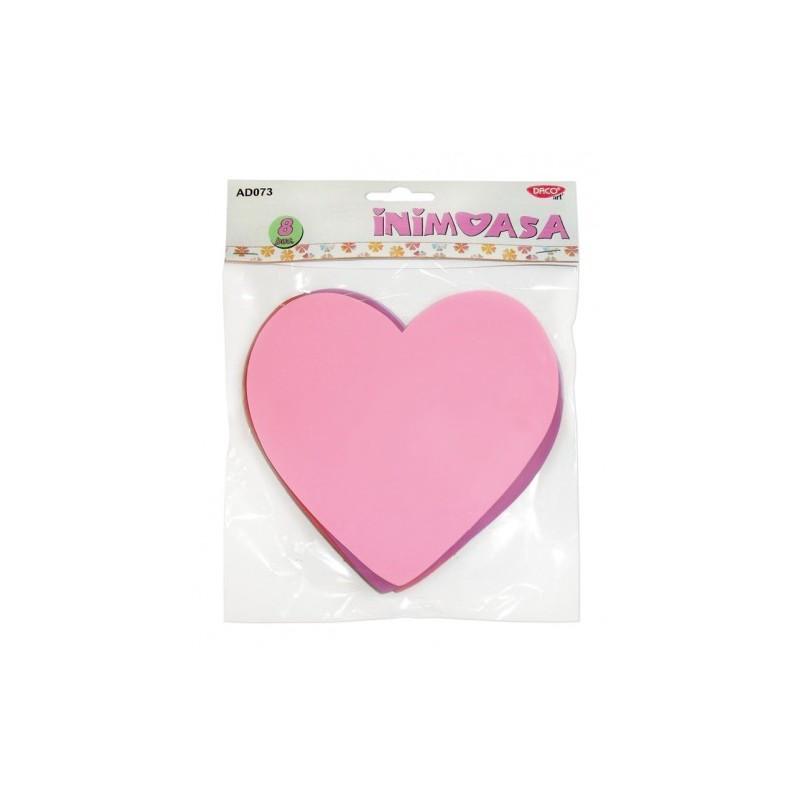 Inima din hartie gumata Daco