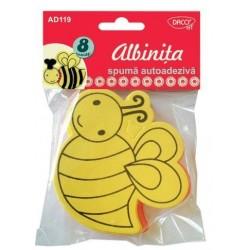 Set 8 forme albinuta din spuma
