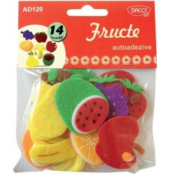 Fructe decorative din pasla