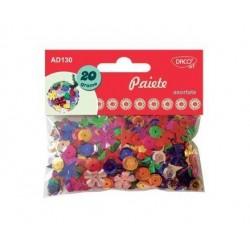 Paiete din plastic asortate Daco
