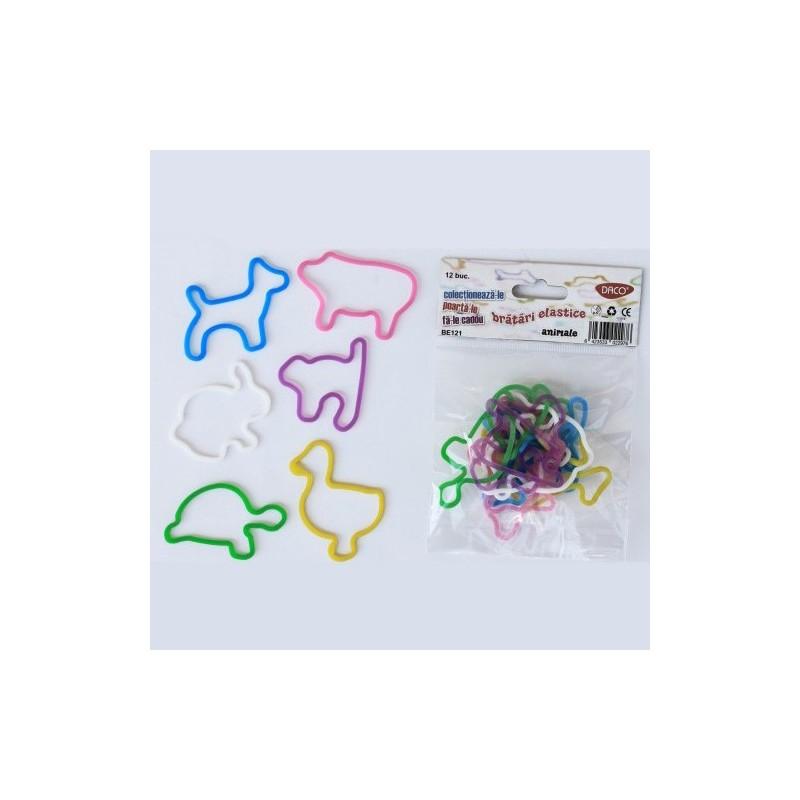 Bratari elastice forme animale Daco