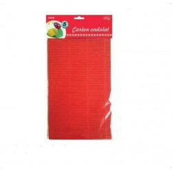 Carton ondulat A4 5 coli culori asortate Daco