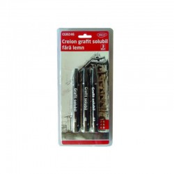 Creion grafit solubil fara lemn 2-6B Daco