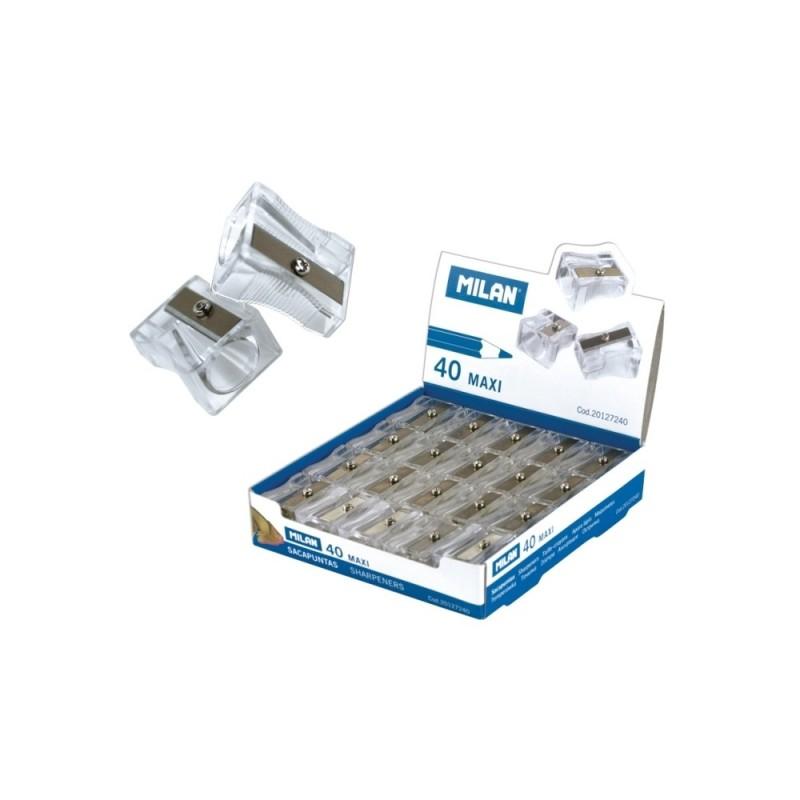 Set 10 ascutitori plastic simple Maxi Milan