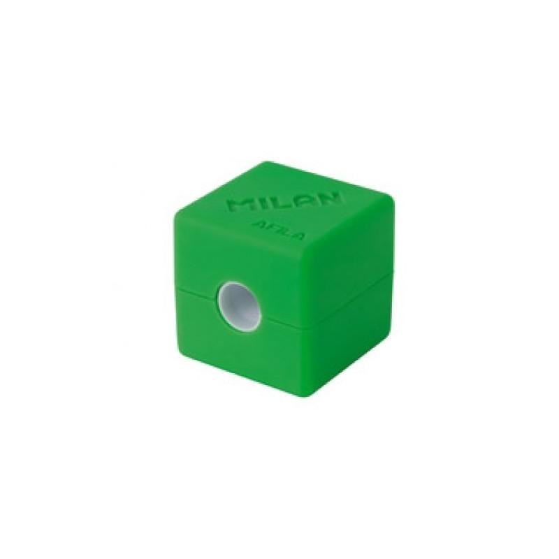 Ascutitoare plastic simpla container cubic Milan