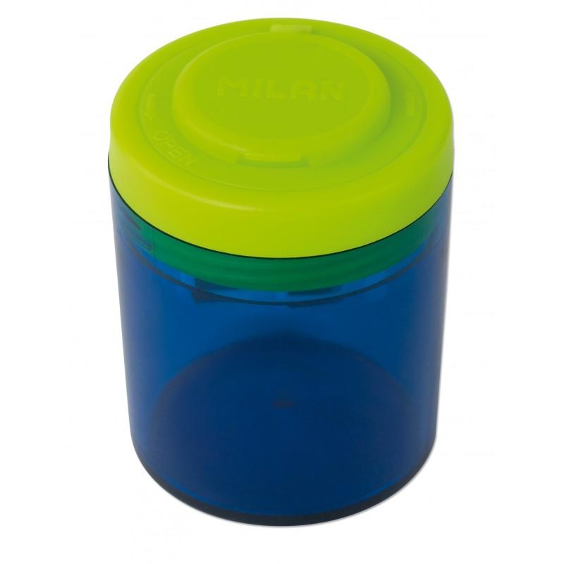 Ascutitoare plastic dubla cu container collection Milan