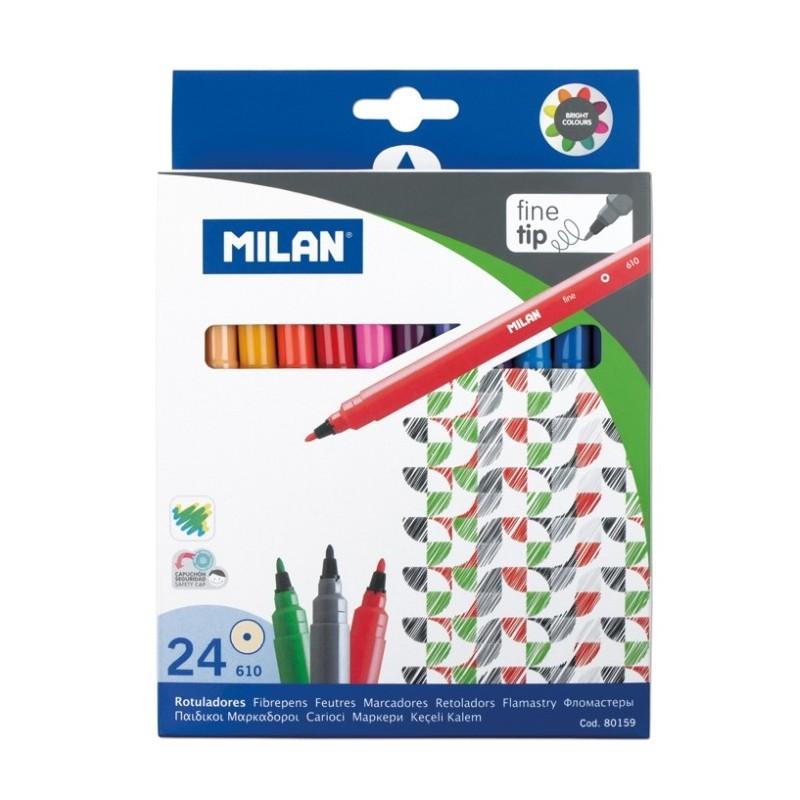 Carioci set 24 culori Milan