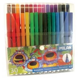 Carioci pentru desen 30 culori set