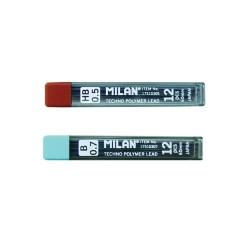 Mina creion mecanic 0,5 HB, set 12 bucati