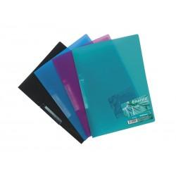 Dosar plastic cu clip Vivid Colors A4, set 5