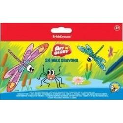 Creioane cerate Artberry, 24 culori