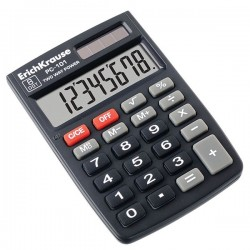 Calculator birou PC-101, 8 digits, alimentare solara