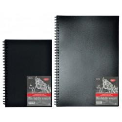 Bloc desen, hartie neagra, 140g, 30 file