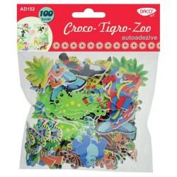 Figurine creative Croco, Tigro, Zoo 6 seturi