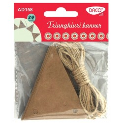 Etichete triunghiuri banner, 6 seturi