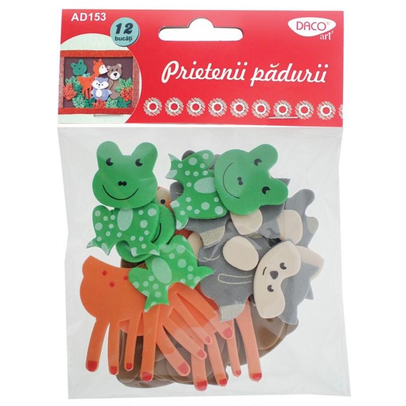 Figurine creative animalele padurii, 6 seturi