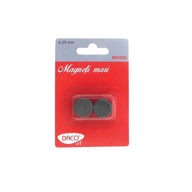 Magneti negri mari set 10