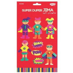 Figurine decorative Super Duper Jima, 6 seturi