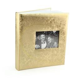 Album foto Je T'aime vinil auriu personalizabil 64 pagini 29x32 cm