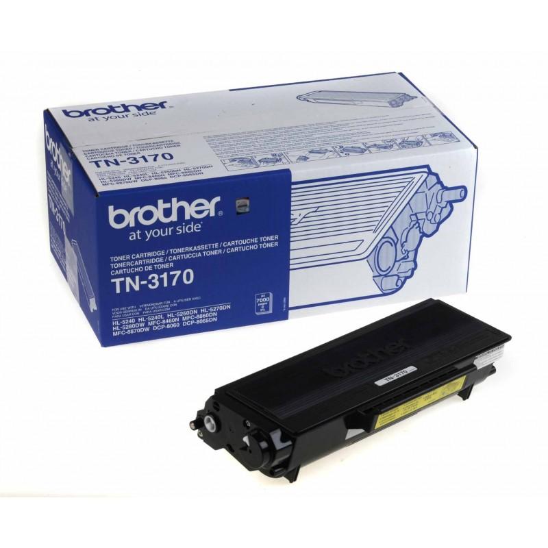 Toner original TN-3170 negru pentru Brother (7000 pagini)