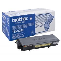 Toner original TN-3280 negru pentru Brother (8000 pagini)