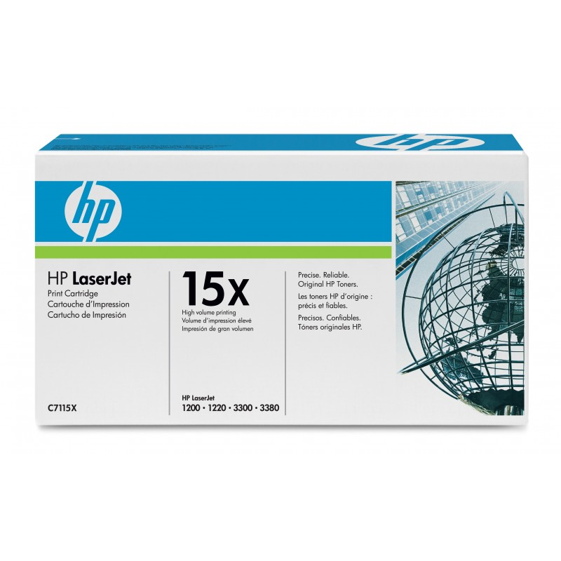 Toner C7115X original HP 15X de capacitate mare
