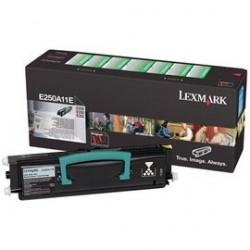 Toner original Lexmark E250A11E Black