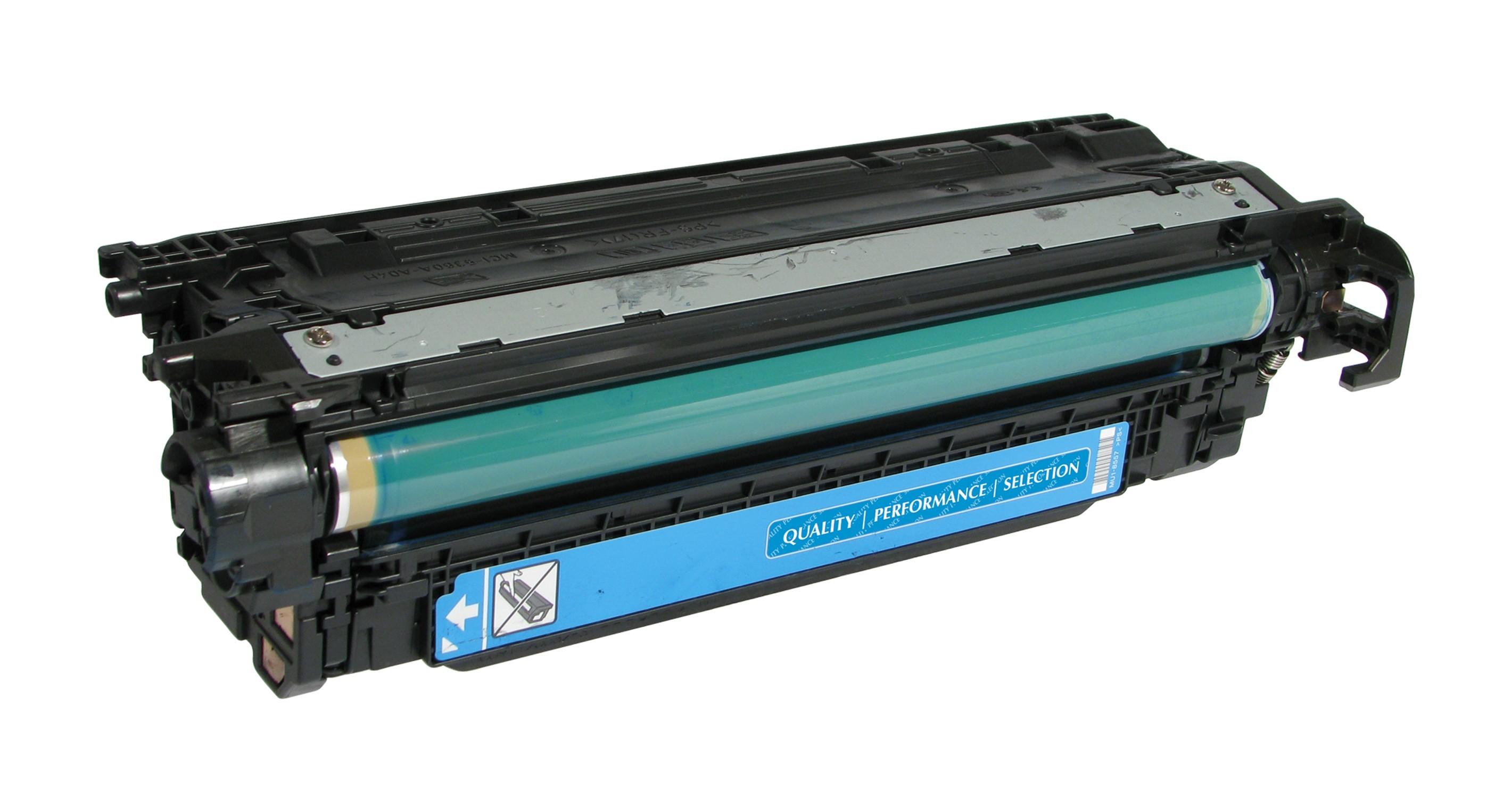 Cartus Toner 504a Compatibil Hp Remanufacturat Culoare: Cyan