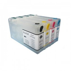 Cartuse reincarcabile pentru Epson WorkForce 4015 4025 4525 4535