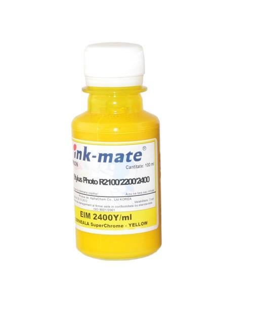 Cerneala Superchrome Pigment Yellow Pentru Epson R2100 R2200 R2400