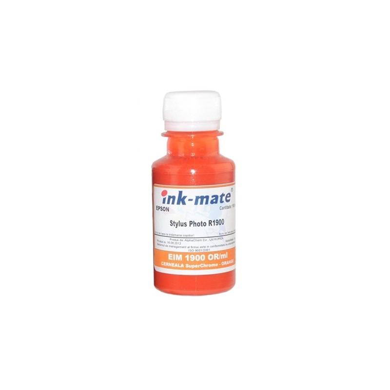 Cerneala SuperChrome pigment Orange pentru Epson R1900
