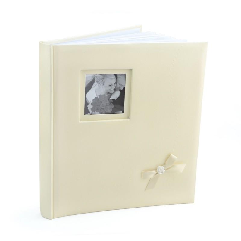 Album foto nuptial Wedding Kiss coperta personalizabila, 60 pagini, 29x32 cm