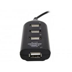 HUB USB Esperanza CLASIC 4 PORTURI USB 2.0