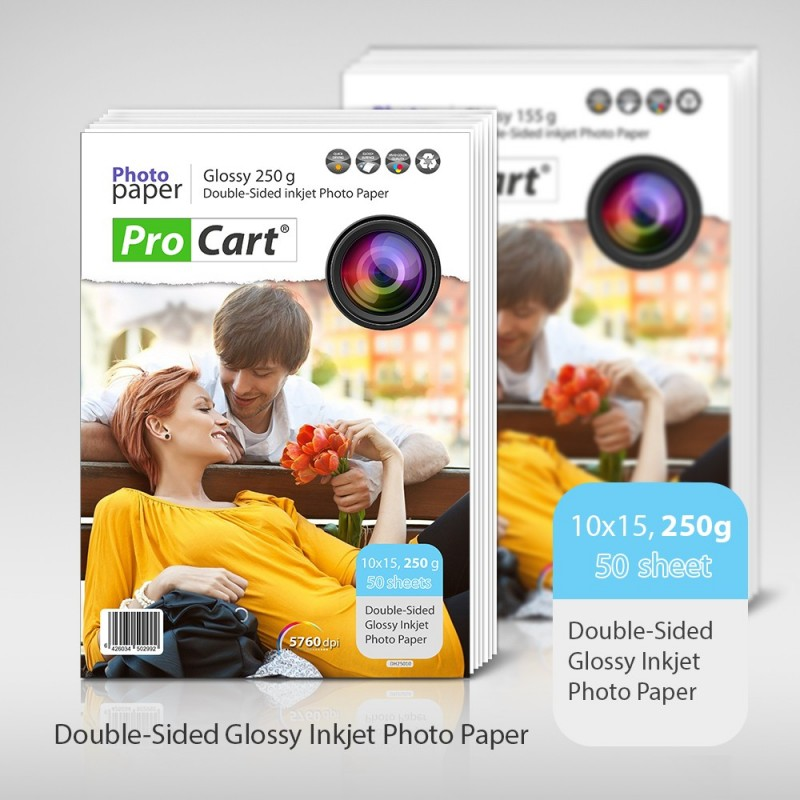 Hartie FOTO Dual Side High Glossy 10x15 cm 250g