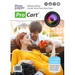 Hartie FOTO format 10X15 High Glossy 220gr printabila Dual Side