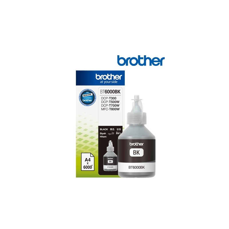 Cerneal originala Brother BT6000BK