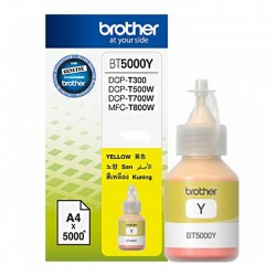 Cerneala originala BROTHER BT5000Y Yellow
