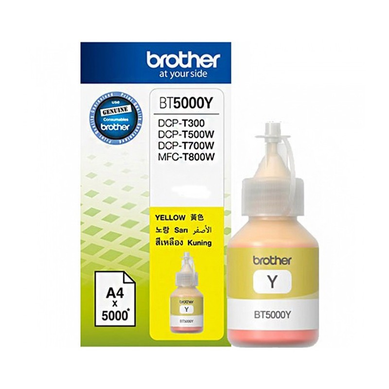 Cerneala originala BROTHER BT5000Y