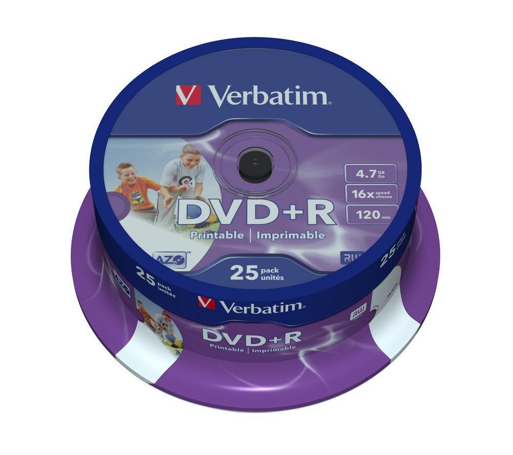Dvd+r Printabile Verbatim 4.7gb 16x