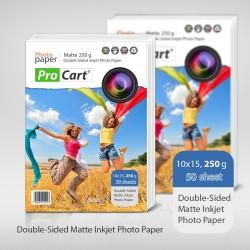 Hartie FOTO dual side 10x15 Mata 250g