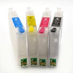 Cartuse reincarcabile Epson T0611, T0612, T0613, T0614