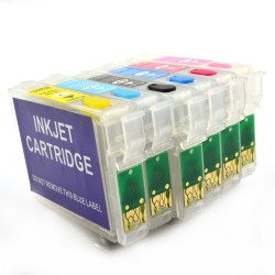 Cartuse reincarcabile Epson T0781, T0782, T0783, T0784, To785, T0786