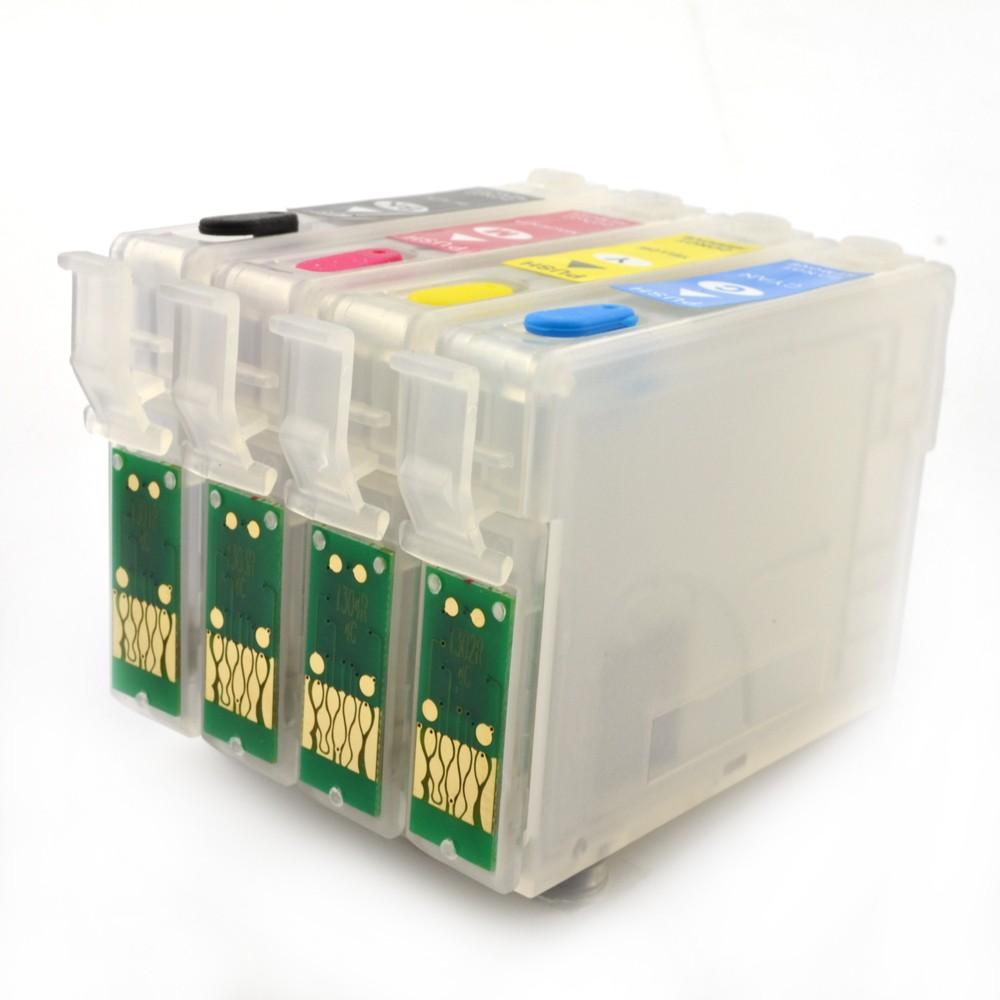 Cartuse Reincarcabile Epson T1301  T1302  T1303  T1304 Cerneala: Cu Cerneala Pigment