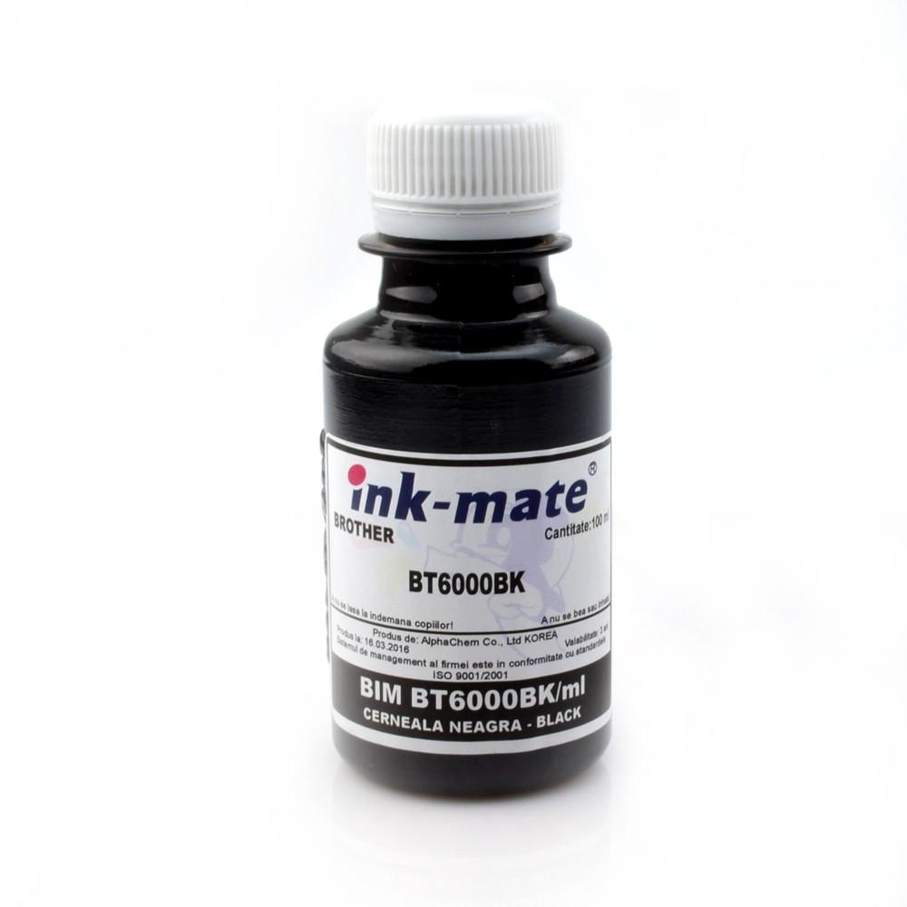 Cerneala Refill Black Pentru Imprimante Brother T300 T500 T700 T800 Cantitate: 100 Ml