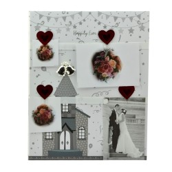Clipboard foto personalizabil Love Story, 30x36 cm