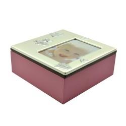 Cutie Baby Box II cu suport pentru fotografii 7x10