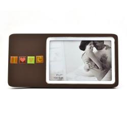Rama foto Love din lemn, format 18x13