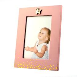 Rama foto Baby Face din lemn, format 13x18