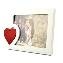 Rama foto Big Heart din lemn, 13x18