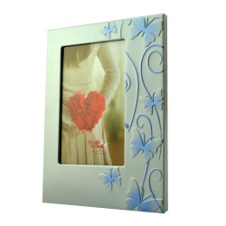 Rama decorativa Smart Butterfly din metal, Format 10x15